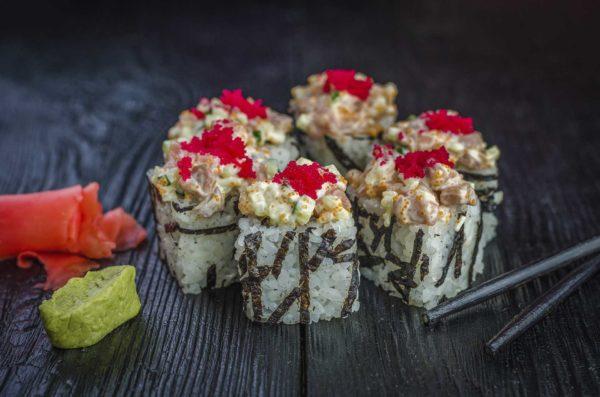 Быстрая доставка суши в киеве, Осьминог