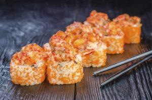 лучшая доставка суши, троещина, киев