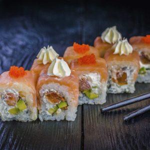 Осьминог, быстрая доставка суши в киеве