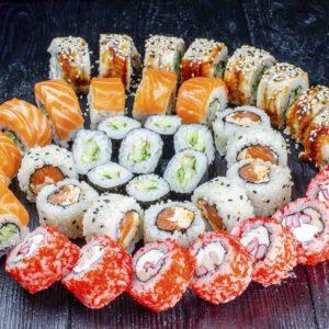 Доставка суши, киев, ресторан Осьминог