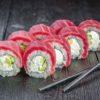 Ролл с тунцом, доставка суши