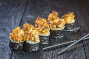 Доставка суши и роллов, осьминог онлайн