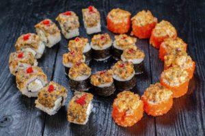 Заказать суши киев, доставка суши ,Троещина,Осьминог доставка суши
