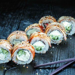 доставка суши Осьминог