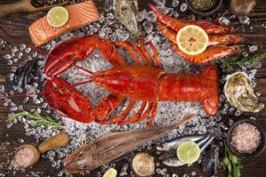 Остминог доставка морепродуктов