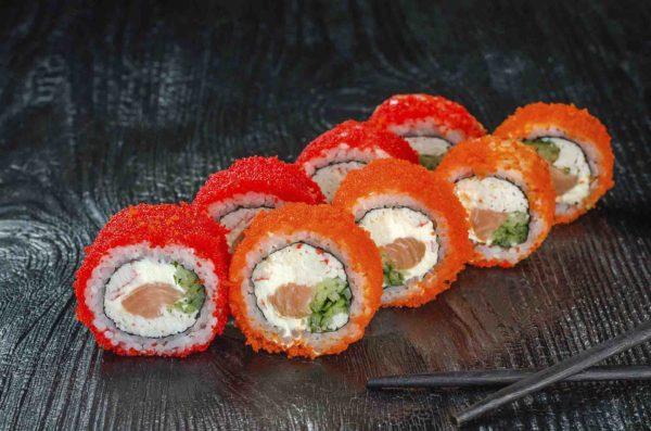 калифорния ролл,лучшие роллы, роллы для детей,суши для детей,доставка суши,Осьминог суши и деликатесы,киев