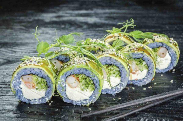 Заказать доставку суши, троещина