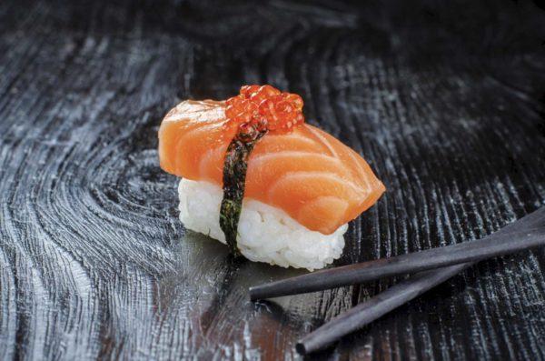 Сяке суси, суши с красной рыбой