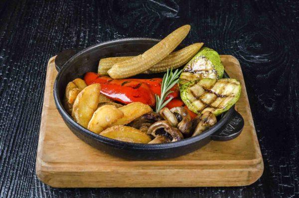 Оввощи гриль, овочі гриль, доставка Осьминог, Осьминог суши и деликатесы, киев